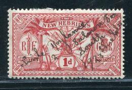 NEW HEBRIDES MYSTERY MANUSCRIPT ENDORSEMENT - New Hebrides