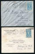 VENEZUELA CENSORED AIRMAIL COVERS 1939 /45 CZECH PERU CHILE - Venezuela