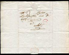 BELGIUM ANTWERP AALST ENTIRE LETTERS 1781 AND 1790 - Belgium