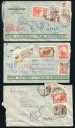 ARGENTINA TO CHILE AIRMAILS CONDOR PANAGRA 1939/46 - Argentina