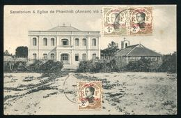 FRENCH CHINA PAKHOI CENSORED POSTCARD TO COSTA RICA - Europe (Other)