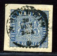 GERMANY BADEN 1862 6kr MANNHEIM - Germany
