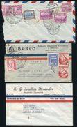 ECUADOR AIRMAILS TO CHILE 1942/45 - Ecuador