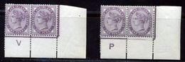GREAT BRITAIN 1d LILAC VARIETIES MNH! - 1840-1901 (Victoria)