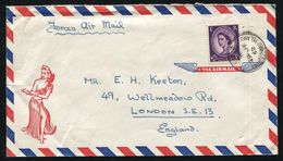 GREAT BRITAIN BOOKLET WILDING CHRISTMAS ISLAND PACIFIC FORCES POST 1962 - Postmark Collection