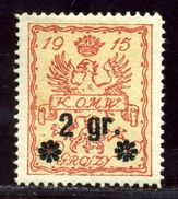 POLAND CITIZENS COMMITTEE OF WARSAW 1916 - Poland
