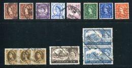 GB QE2 PERFINS - 1952-.... (Elizabeth II)