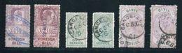 GB FISCALS QV KE7 FOREIGN BILL AND CIVIL SERVICE - 1840-1901 (Victoria)