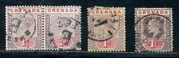 GRENADA GREAT VILLAGE POSTMARKS! - Grenada (...-1974)