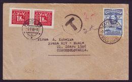 GOLD COAST/CZECHOSLOVAKIA/POSTAGE DUES/KGV11 - Gold Coast (...-1957)