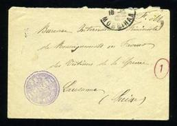 FRANCE/WW1/ARTILLERIE COVER - Europe (Other)