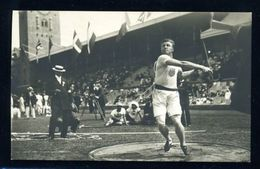 SWEDEN/1912 OLYMPICS/CANADA/POSTCARD/DISCUSS/BYRD - Sweden