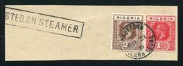 SIERRA LEONE MARITIME NIGERIA USED ABROAD KG5 1931 - Sierra Leone (...-1960)