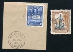 SIERRA LEONE USED ABROAD MARITIME GAMBIA - Gambia (...-1964)