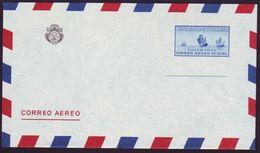 COSTA RICA COLUMBUS FLEET OFFICIAL AIR POSTAL STATIONERY 1940 - Costa Rica