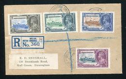 BRITISH HONDURAS BELIZE SILVER JUBILEE GEORGE FIFTH - British Honduras (...-1970)