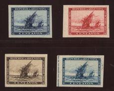 ARGENTINA 1892 COLUMBUS PROOFS - Argentina