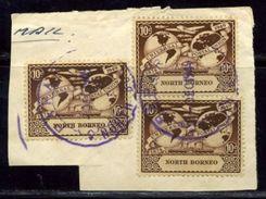 NORTH BORNEO 1949 UPU PAPAR POSTMARK - North Borneo (...-1963)