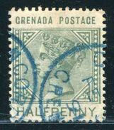 GRENADA QV RARE VILLAGE POSTMARK CONCORD - Grenada (...-1974)