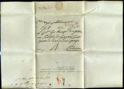 ITALY 1836 ALESSANDRIA TO PALERMO SICILY - Italy