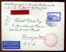 GERMAN L2129 AIRSHIP FLIGHT TO NEW YORK 1936 - Germany