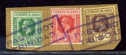 LEEWARD ISLANDS TRINIDAD KGV PAQUEBOT - Leeward  Islands