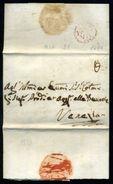 ITALY 1786 ENTIRE LETTER PADOVA VENEZIA - Italy