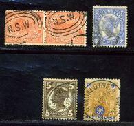 QUEENSLAND POSTMARKS USEFUL GROUP - 1860-1909 Queensland