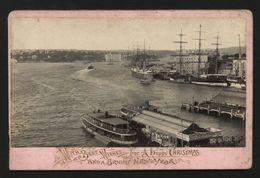 SYDNEY AUSTRALIA 1895 XMAS PHOTOGRAPHIC CARD - Photographs