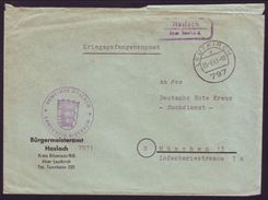 GERMANY 1963 COVER FROM POW IN HASLACH - Germany