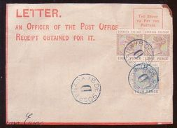 GRENADA 1890 FRONT OF COVER - Unclassified