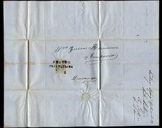 MEXICO 1869 COVER SANTIAGO PAPASQUIARO DURANGO - Mexico