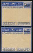 BECHUANALAND AIR LETTER STATIONERY OVERPRINT GEORGE SIXTH 1945 - Bechuanaland (...-1966)