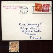JAMAICA KINGSTON PAQUEBOT MARITIME MAIL - Jamaica (...-1961)