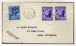 SEYCHELLES 1958 PAQUEBOT MARITIME MAIL - Seychelles (...-1976)