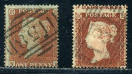 GB LINE ENGRAVED 1854 1d RED-BROWN - 1840-1901 (Victoria)
