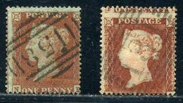 GB LINE ENGRAVED 1854 1d RED-BROWN - Unused Stamps