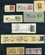 SKIING SUPER GROUP OF POSTMARKS 1932-52 - Europe (Other)