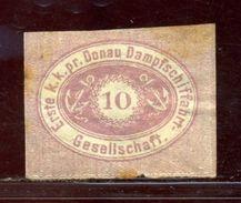 AUSTRIA DANUBE DONAU 1866 PROOF - Austria