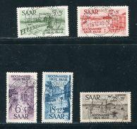 GERMANY FRANCE SAAR 1948 FLOOD DISASTER RELIEF SET - Germany