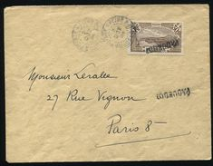 MARTINIQUE PAQUEBOT SHIPPING GUADELOUPE 1934 - Stamps