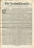 GREAT BRITAIN EAST INDIA COMPANY SHIPPING MAIL COACH 1785 - Old Paper