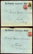 DANZIG 1920 COVERS - Germany