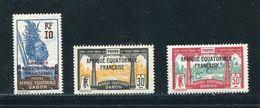 FRENCH AFRICA GABON U.P.U. SPECIMENS SPANISH POST OFFICE 1926 - Europe (Other)