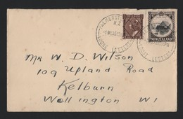 NEW ZEALAND MARITIME PALMERSTON LOOSE LETTER RAILWAY 1935 - Unclassified