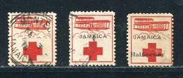 JAMAICA RED CROSS FLIGHT BIPLANE WORLD WAR ONE JUDAICA POLAND - Jamaica (...-1961)