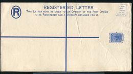 SEYCHELLES GEORGE SIXTH REGISTERED STATIONERY - Seychelles (...-1976)