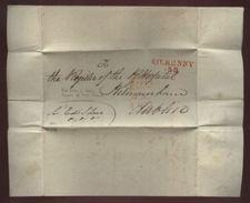 IRELAND 1821 FREEFRANK ENTIRE KILKENNY-DUBLIN - Unclassified