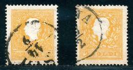 AUSTRIA LEVANT 1863 2s YELLOW - Austria