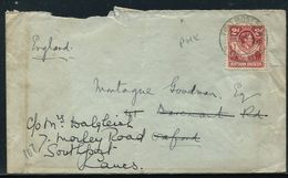 NORTHERN RHODESIA KING GEORGE SIXTH FORT ROSEBERY COVER 1945 - Great Britain (former Colonies & Protectorates)
